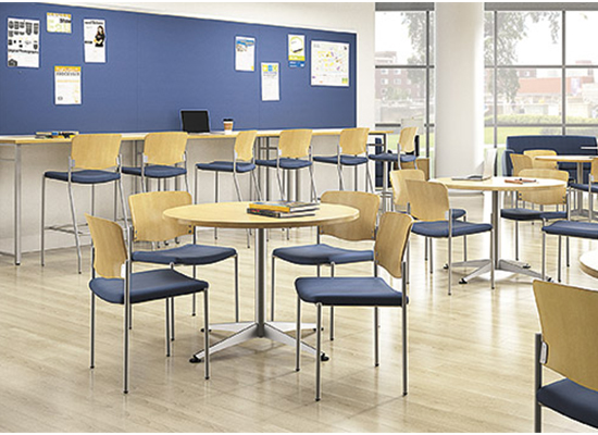 National Waveworks Table & Tag Chairs