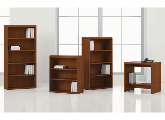 National Arrowood Bookcases