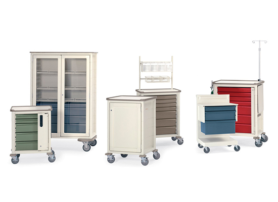 Herman Miller Procedure & Supply Carts