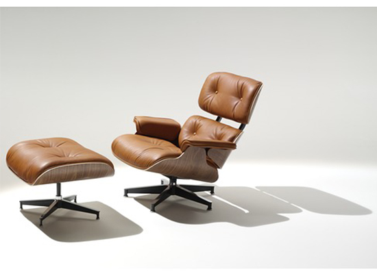 Herman Miller Eames Lounge Chair Ottoman