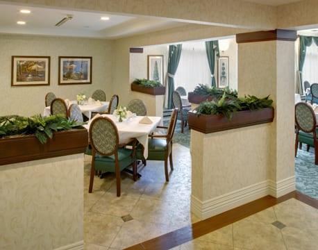 extendicare cedar springs dining hall