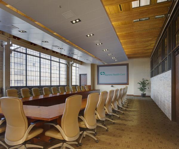 Aurora Healthcare Boardroom at Corporate Office