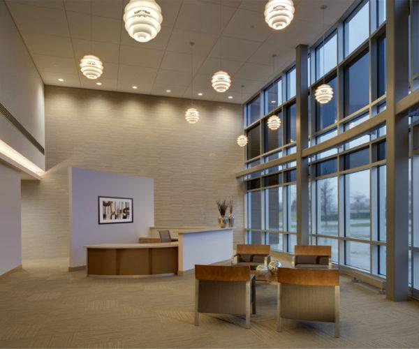 Bucyrus Headquarters Lobby