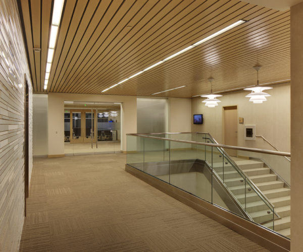 Bucyrus Headquarters Stairs