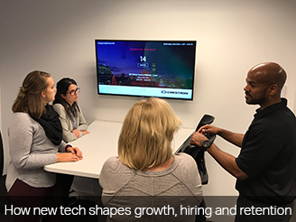 How new tech shapes growth, hiring and retention