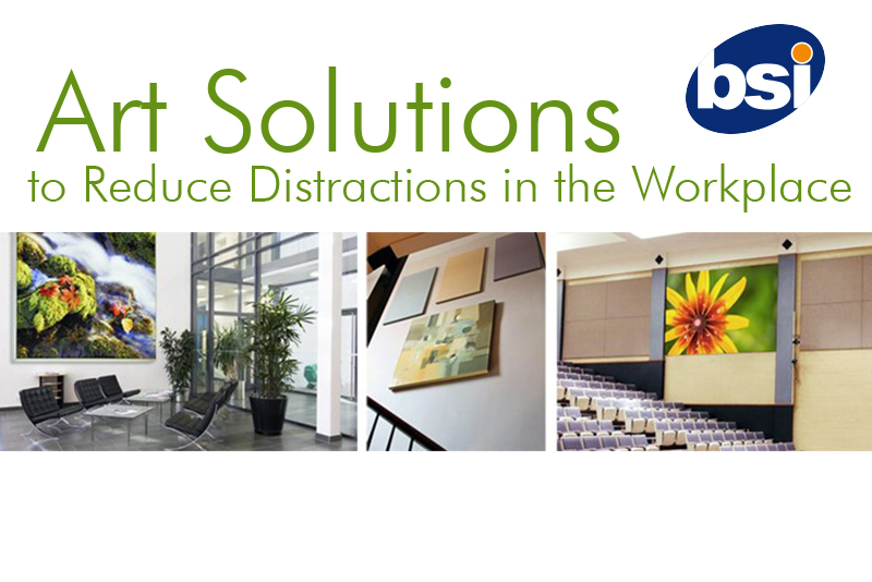 art solutions to reduce distractions