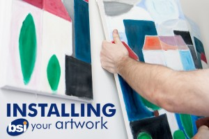 installing your artwork
