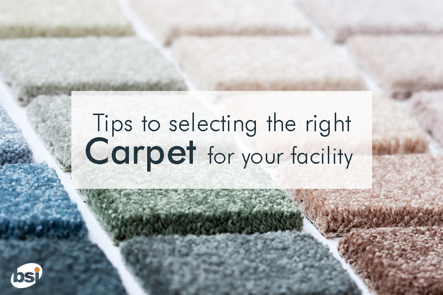 selecting the right carpet